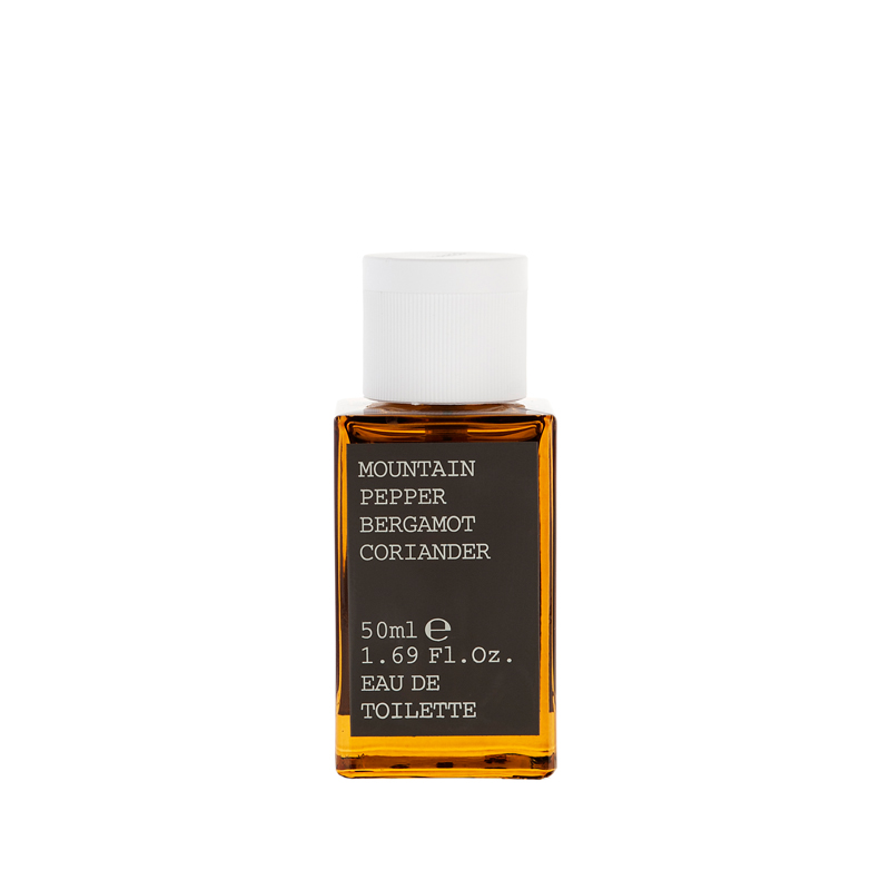 MOUNTAIN PEPPER / BERGAMOT / CORIANDER - Eau de Toilette