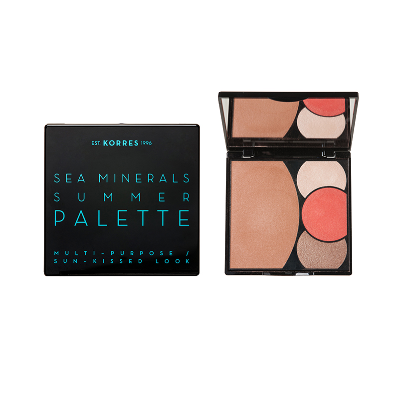 SEA MINERALS SUMMER PALETTE - SEA MINERALS SUMMER PALETTE - Coral Sunsets